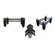 Optical table support systems