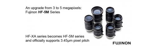 """5Mpx -2/3""""-1.1"""" C mount lenses"""
