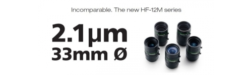 "12Mpx -2/3"" - 1.1"" C mount lenses"