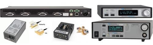 Instrumentación para diodos láser