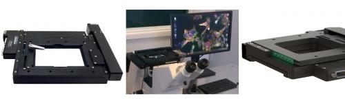 Plataformas XY de Escaneo y Microscopía (platinas)