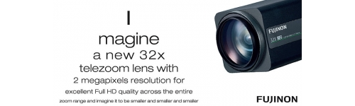 Lentes zoom motorizado 32x Full HD