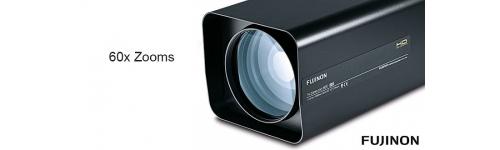 SD/ Full HD 60x zoom motorized lenses